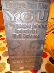 They're just like YOU - the people joining the Industrial Civil Defence (stevenbrandist) Tags: uk leicester fear plate printing homeoffice coldwar recruitment nuclearwar ironcurtain civildefence modernhistory nuclearattack ukgovernment industrialcivildefence