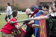 56 (earlmadness) Tags: costumes anime buffalo war cosplay convention guns ub zombies nerf con boffer dagohir zarp ubcon