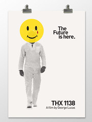 THX 1138 (imeusdesign) Tags: classic film illustration movie print poster design graphicdesign vanishingpoint graphics films retro movies conversation block illustrator thx1138 filmposters francisfordcopolla anthonypeters imeus imeusdesign lucasgeorge