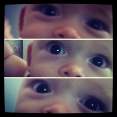 #davi #baby #eye (fffdesign) Tags: square squareformat iphoneography instagramapp xproii uploaded:by=instagram