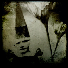 Evidence (Lumilyon) Tags: sepia gothic digitalart grainy fairies digitalcollage ipad ttv lumilyon spiritlife nettieedwards
