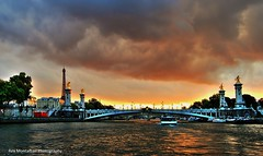 J'aime un coucher de soleil paris (Rex Montalban Photography) Tags: sunset paris france europe eiffeltower hdr pseudo photomatix rexmontalbanphotography