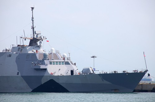 USS Freedom at IMDEX 2013