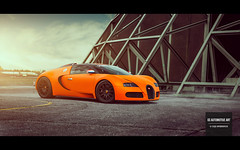 His Majesty (GSAutomotiveArt.com) Tags: orange dutch airport hangar bugatti matte supercars veyron weeze springevent