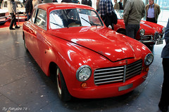 Fiat 1400 Touring Abarth 1000 Miglia Superleggera 1950 (fangio678) Tags: mars classic cars fiat stuttgart voiture days collection coche oldtimer 1950 touring 1000 08 ancienne abarth miglia 1400 youngtimer superleggera italienne voituresanciennes 2013