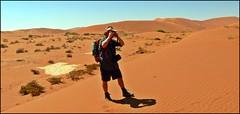 alone in the desert (tor-falke) Tags: africa photographie desert ngc panasonic safari human afrika namibia wüste deserto fz30 afrique désert namib namibie africalandscape torfalke flickrtorfalke