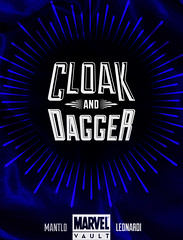 Cloak and Dagger Cover Detail (resrez) Tags: comics logo typography photography book design cover superhero cloak concept superheroes marvel collector