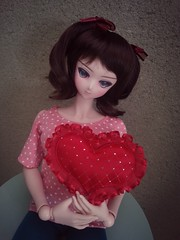Valentine's Day (Romariole) Tags: cute japan toys actionfigure doll kawaii bjd dd dollfie volks dollfiedream