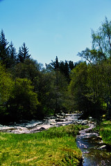 Photo of The River Gynack by the golf course, Kingussie