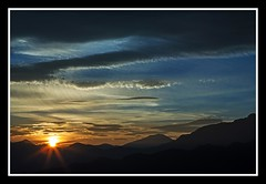 Alishan sunrise (shashin62) Tags: light sun mountains colour nature clouds sunrise landscape asia taiwan alishan