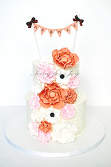 (Icing for Joy) Tags: wedding weddingcake sugarflower fantasyflower fondantflower