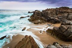 Monterey Seascape 2 (Shenanigans in Japan) Tags: california sunset usa seascape monterey long exposure