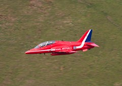 XX319  Hawk T1A  RAF  Red Arrows (Churchward1956) Tags: wales hawk aviation redarrows raf lowlevel machloop hawkt1a lfa7 cadeast xx319