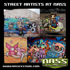 Bristol based SPZero76 and www.twitter.com/lochnessart join forces for NASS Festival 2013 to bring you some truly astounding street art. #urban #alternative #culture #NASShype Tickets selling out! www.bit.ly/NASS13tix (NASS Festival) Tags: festival energy drink relentless nass