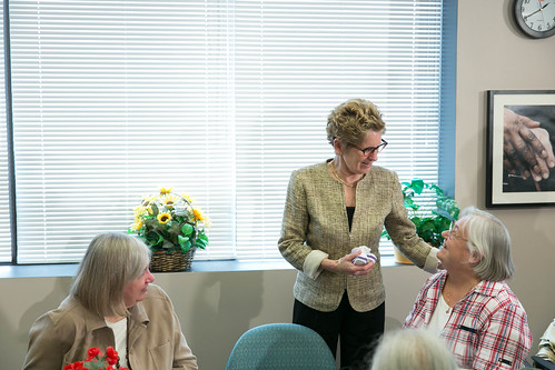 Premier Wynne's Press Conference - 140 Merton - April 2013 (4)