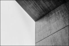 UNTITLED (Christopher Lange) Tags: leica blackandwhite abstract film geometric analog photography geometry fineart surreal summicron ilfordhp5 35mmfilm cornell grainy leicam2 christopherlange ithacany johnsonmuseumofart