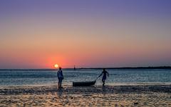 Sunset - Sanlcar de Barrameda II (G.Alonso) Tags: sunset sea sol beach de mar playa andalucia sanlcar puestas doana