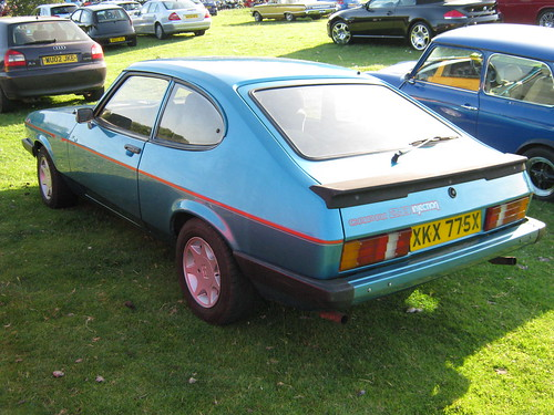 1981 FORD CAPRI MK3 2.8 INJECTION 2792cc XKX775X