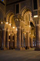 Al-Saleh Mosque-  (Amani Alhjaji) Tags: road street mosque yemen sanaa                alsaleh    alsabeen