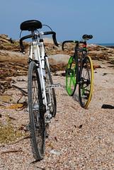 Fixed Gear (Leonard Romero C) Tags: mar colombia gear bicicleta playa arena fixed fotografia bicicletas pin caribe atlantico barranquilla benotto fijo 2013
