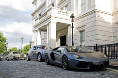 Desert storm (Sir_Georgino) Tags: london car supercar spotting aventador