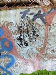I Could Have Been a Contender (wiredforlego) Tags: nyc streetart ny newyork brooklyn graffiti stencil urbanart williamsburg illegalart