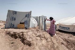 Domiz refugee camp daily life, Kurdistan. Irak