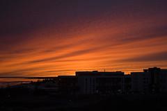 Sólarlagið í kvöld (helga 105) Tags: sunset shadow red iceland rautt skuggar sólarlag helga105
