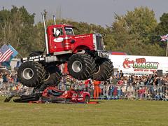 Monster Truck Show (Gerry Balding) Tags: england cars suffolk destruction demolition excitement thrills crowds crushed eastanglia burystedmunds monstertrucks bigpete