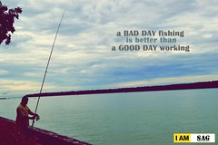 A bad day fishing is better than a good day working (SAG.photo) Tags: shahrul azizan