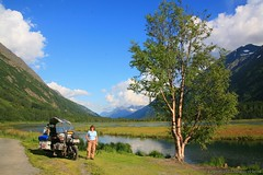 IMG_0764 (guzzioverland) Tags: friends sea mountains church alaska fun fishing russia meadows bikes railway adventure glaciers roads tunnels kenai whittier fireweed adventuremotorcycling motorcyclingtravel guzzioverland