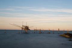 Trabocco del Turchino (VinLuc83) Tags: sea italy nikon mare adriatic abruzzo adriatico trabocco nd1000 bellabruzzo
