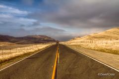 Valley Road (dPointZero) Tags: california road winter northerncalifornia clouds la