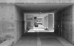 SFU Residences (jvde) Tags: 3570mmf3345nikkor blackandwhite burnaby coolscan f601 film fujicolor nikon nikonf601 sfu gimp