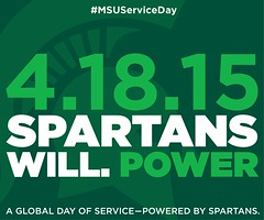 Photo representing 2015 SPARTANS WILL. POWER Global Day of Service