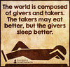 SpiritualCleansing.Org - Love, Wisdom, Inspirational Quotes & Images (SpiritualCleansing) Tags: world unknown inspirational morality composed takers givers eatbetter sleepbetter beingagoodperson