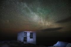 The Glow and the Milky Way. (Ronan.McLaughlin) Tags: longexposure atlantic astrophotography waw donegal malinhead inishowen sigma1835mm sigmaf18 ronanmclaughlin wildatlanticway