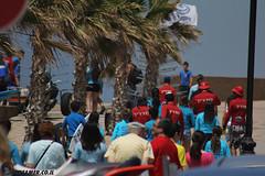 IMG_8720 (Streamer -  ) Tags: ocean sea people green beach nature students ecology up israel movement garbage sunday north group young cleanup clean teen shore bags  nonprofit streamer  initiative enviornment    ashkelon          ashqelon   volonteers      hofit