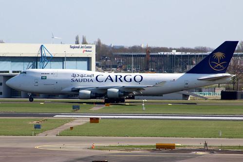 TC-ACJ Boeing 747-433BCF Saudi Arabian Airlines