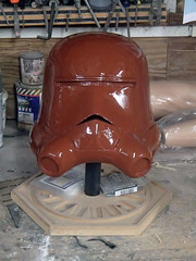Chocolate Trooper (thorssoli) Tags: starwars costume helmet replica prototype prop snowtrooper firstorder flametrooper forceawakens