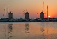 Sunrise at the Windmills (Emanuel Papamanolis) Tags: challengegamewinner