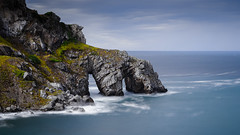 Silver arches (TanzPanorama) Tags: water sea seascape waterscape rock rockformation cliff landscape spain basquecountry coastline paisvasco bizkaia bayofbiscay euskadi tanzpanorama sel2470z fe2470mmf4zaoss sonya7ii sonyilce7m2 10stopndfilter haidaprond1000 haidaprond30 blue arches longexposure silver