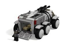 Star Citizen Ursa Rover rear door (turbokiwi) Tags: lego starcitizen ursa rover vehicle truck buggy transport