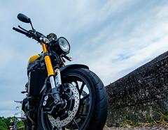 Our bike (a-story) Tags: bike bluesky feingoshan color charming motorbike