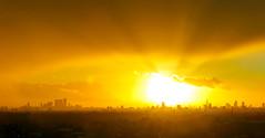 City Set (Richard Cartawick) Tags: londonskyline sunset sunsets sunlight sunflare sun solar london londonsunset londonnature nature uk skyline skylines cityscape panorama sky skyscape theshard thegerkin thewalkietalkie sillhoute