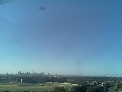 Sydney 2016 Oct 25 17:43 (ccrc_weather) Tags: ccrcweather weatherstation aws unsw kensington sydney australia automatic outdoor sky 2016 oct evening