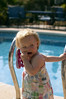 The shoe by the pool (dan.oxlade) Tags: shoe d40 nikon nikkor nikkor50mm118g child toddler holiday