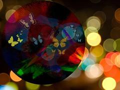 Butterfly Dance (soniaadammurray - OFF) Tags: digitalphotography manipulated experimental bokeh bokehwednesdays butterflies dance nature beauty abstract