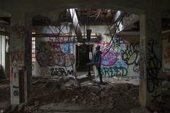 Throughtheroof (www.vanishingnewengland.com) Tags: kings park psychatric hospital center ny new york england long island urbex urban exploration abandoned asylum vanishing graffiti dark sony a7rii