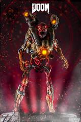 "DooM Collector's Edition 12"" Statue - The Revenant (ABKamleh) Tags: doom videogames fps firstpersonshooter demon revenant statue collectible externalflash strobe speedlight nikon nikkor macro micro 105mm toyphotography"
